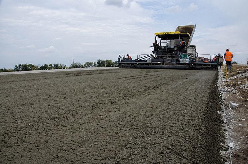 тощий бетон доставка